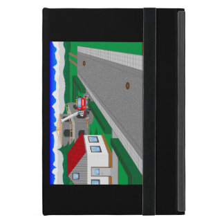 Straßen und Hausbau Etui Fürs iPad Mini