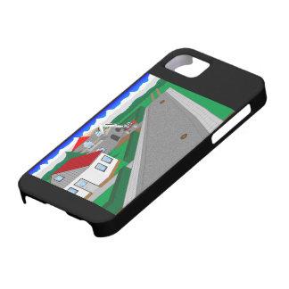 Straßen und Hausbau Etui Fürs iPhone 5