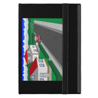 Straßen und Hausbau iPad Mini Hüllen