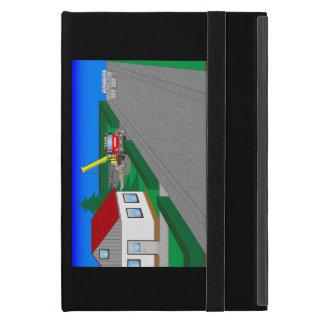 Straßen und Hausbau iPad Mini Schutzhülle