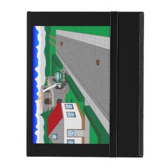 Straßen und Hausbau iPad Schutzhüllen