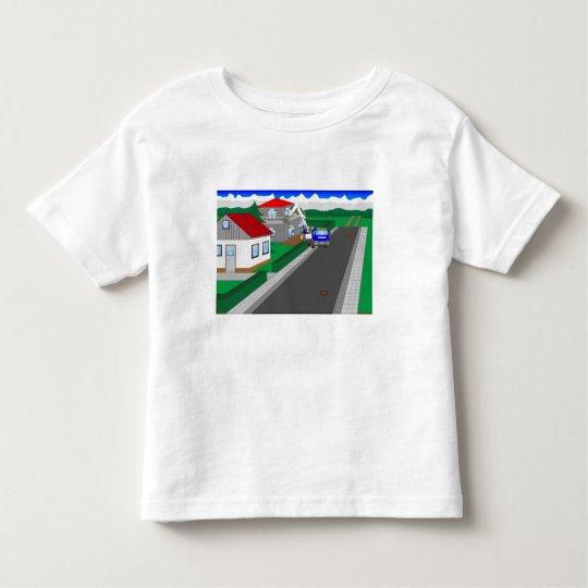 Straßen und Hausbau Kleinkind T-shirt