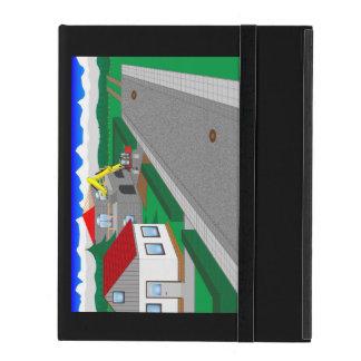 Straßen und Hausbau Schutzhülle Fürs iPad