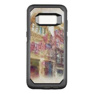 Straßen von altem Amsterdam OtterBox Commuter Samsung Galaxy S8 Hülle