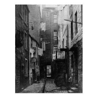 Straßen von Glasgow Schottland 1868 Postkarte