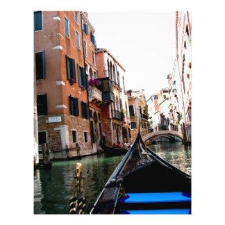 Straßen von Venedig 21,6 X 27,9 Cm Flyer