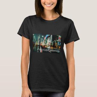 Straßenbeleuchtungs-Marathon-moderner Damen-T - T-Shirt