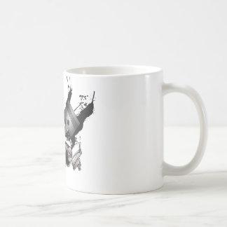 Straßenrennen Kaffeetasse