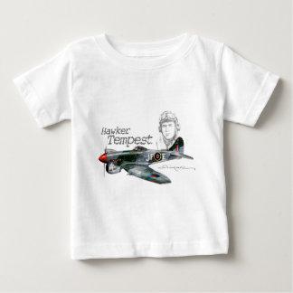 Straßenverkäufer-Sturm Baby T-shirt