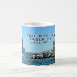 Stratford Masse-Leuchtturm, Connecticut Kaffeetasse