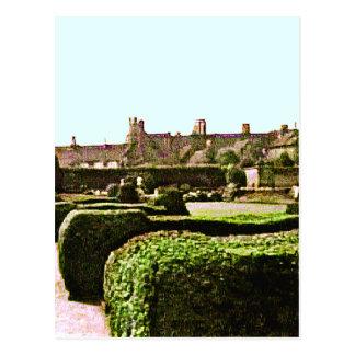 Stratford-nach-Avon Garten snap-28575 jGibney Postkarte