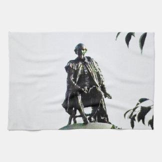 Stratford-nach-Avon Shakespeare Statue jGibney Handtuch