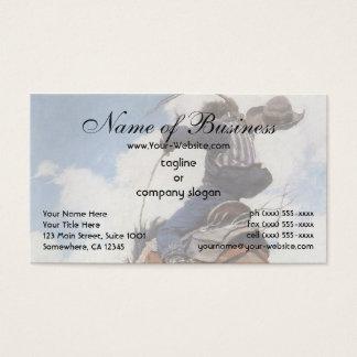 Sträuben durch NC Wyeth Visitenkarte