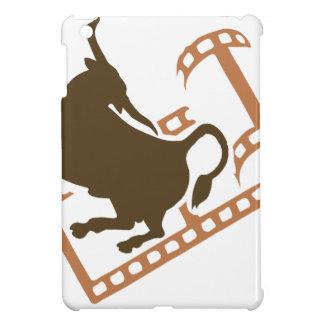 Sträubende Stier-Filmrolle iPad Mini Hülle