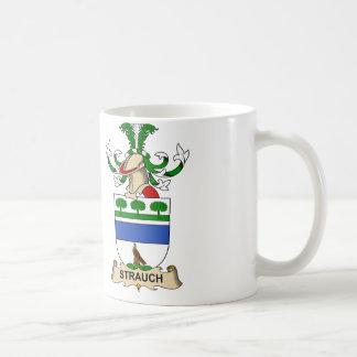 Strauch Familienwappen Kaffeetasse