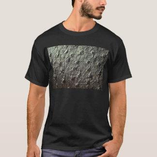 Strauß-Haut-Leder T-Shirt