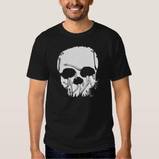 Strauß-Schädel-Illusion Hemd