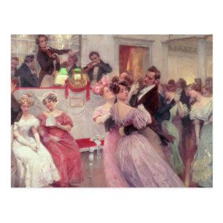 Strauss und Lanner - der Ball, 1906 Postkarte