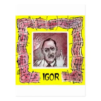 Stravinsky Postkarte