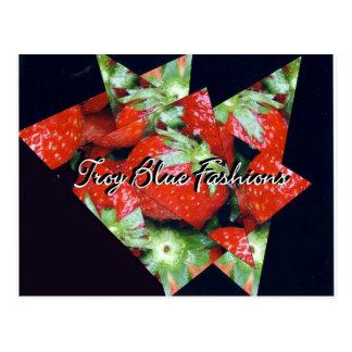 Strawberry Fields für immer Postkarte