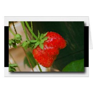 Strawberry Karte