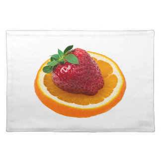 Strawbery und Orange Tischset