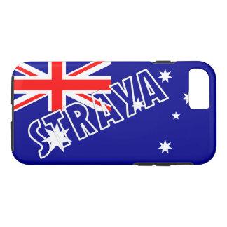 Straya australischer Flagge iPhone Fall iPhone 8/7 Hülle
