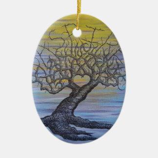 Streben Liebe-Baum Keramik Ornament