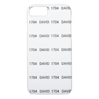Strecke Davids 1704 iPhone 8/7 Hülle