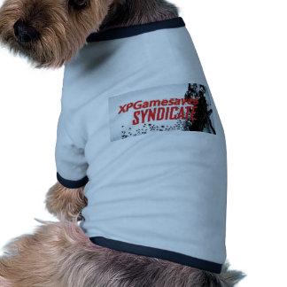 Strecke Xpgsyndikat Ringer Hunde-Shirt