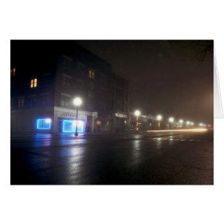 Streetscape IV - Greenfield als Paris - Nacht Ligh Karte
