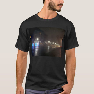 Streetscape IV - Greenfield als Paris T-Shirt