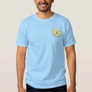 Streifen Besticktes T-Shirt