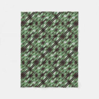 Streifen-Camouflage-Muster-Druck Fleecedecke