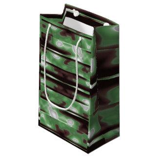 Streifen-Camouflage-Muster-Druck Kleine Geschenktüte