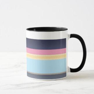 Streifen der Farbe Tasse