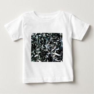 Streifen des Abfallmetalls Baby T-shirt