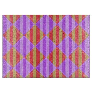 Streifen, Diamanten, Stellen-Muster durch Shirley Schneidebrett
