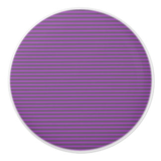 Streifen-Entwurf - Pflaume gefärbt - Fach-Griff Keramikknauf