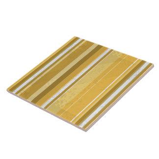 Streifen-Gelb Keramikfliese
