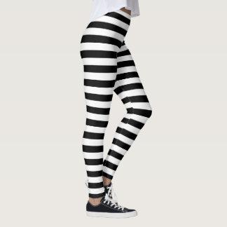 Streifen in irgendeiner Farbe Leggings