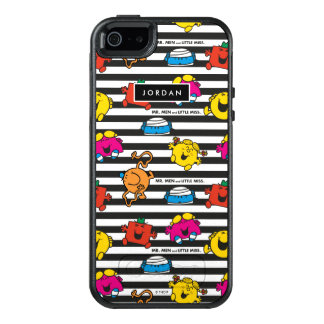 Streifen kopieren | addieren Ihren Namen OtterBox iPhone 5/5s/SE Hülle