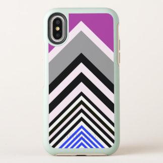 Streifen OtterBox Symmetry iPhone X Hülle
