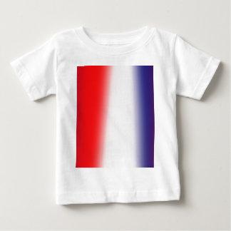 Streifen! Rot, weiß und Blau Baby T-shirt