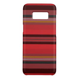 Streifen - roter Horizont Case-Mate Samsung Galaxy S8 Hülle