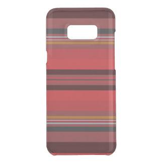 Streifen - roter Horizont Get Uncommon Samsung Galaxy S8 Plus Hülle