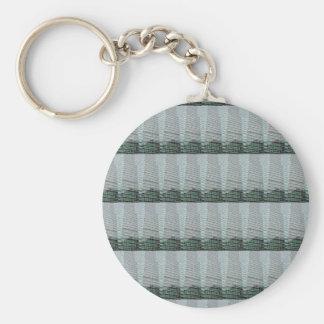 Streifen-Schablone DIY addieren Schlüsselanhänger