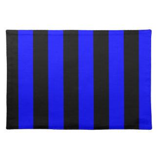 Streifen - Schwarzes und Blau
