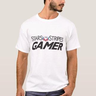 Streifen und Streifen GAMER T-Shirt