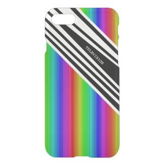 Streifen-vertikale Griff-Regenbogen-Frequenz iPhone 8/7 Hülle